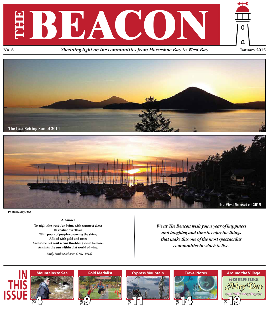 West Vancouver Beacon Newspaper - January 2015 Edition
