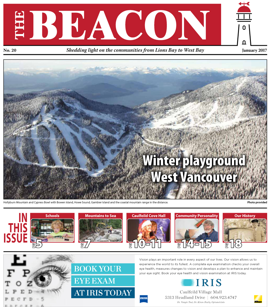 West Vancouver Beacon Newspaper - January 2017 Edition
