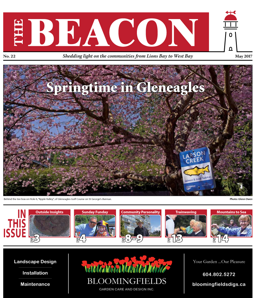 West Vancouver Beacon Newspaper - May 2017 Edition