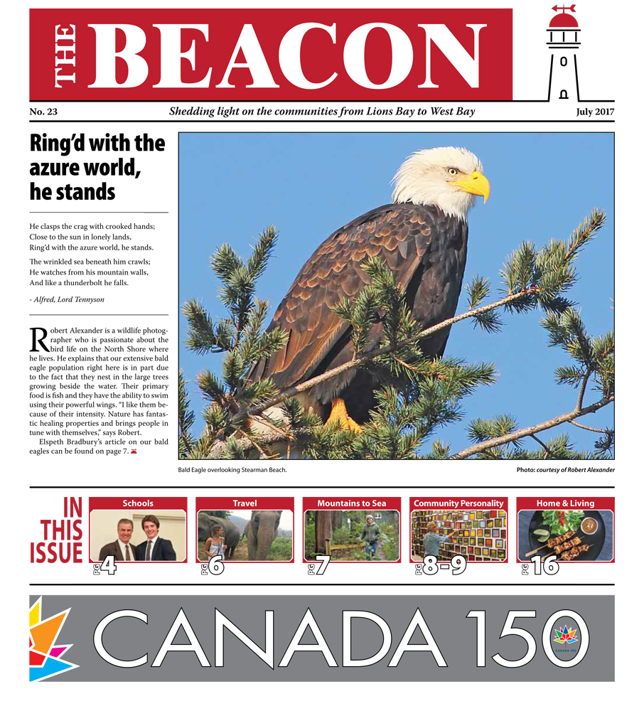 West Vancouver Beacon Newspaper - July 2017 Edition