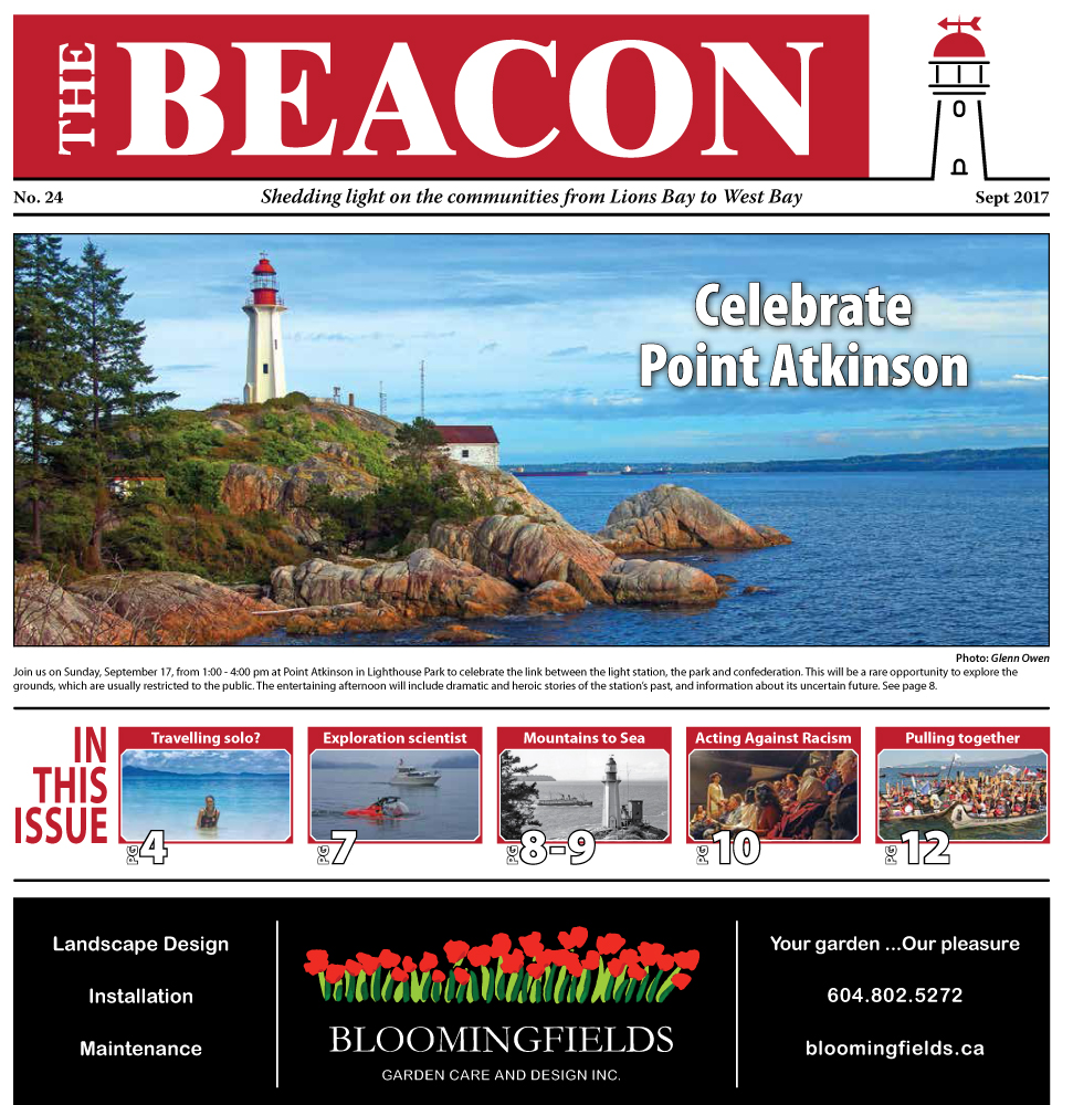 West Vancouver Beacon Newspaper - September 2017 Edition
