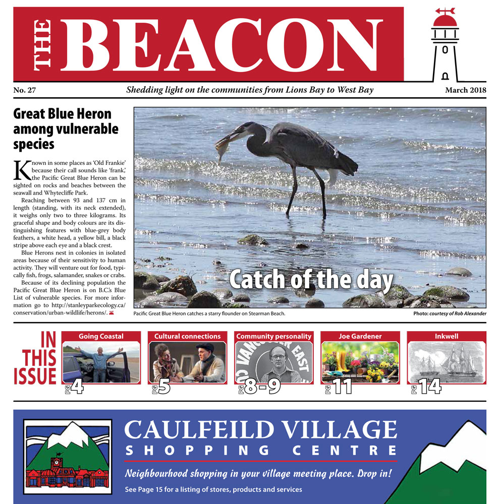 West Vancouver Beacon Newspaper - March 2018 Edition